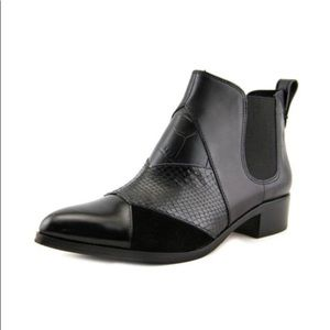 Coach 'Suffolk Patchwork' Pointy Toe Chelsea Boot